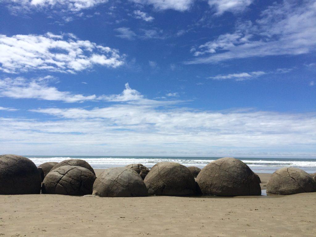 Ten reasons to visit New Zealand: the Moeraki Boulders