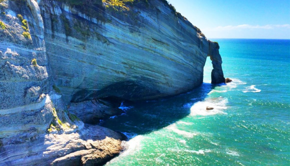 Cape Farewell is the farthest north point on the South Island of New Zealand
