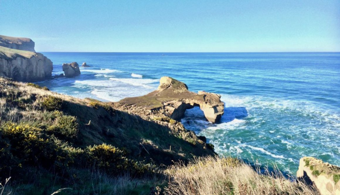 Tunnel Beach, hiking in New Zealand, where to hike in NZ, best hikes in Dunedin, what to do in Dunedin, one day in Dunedin