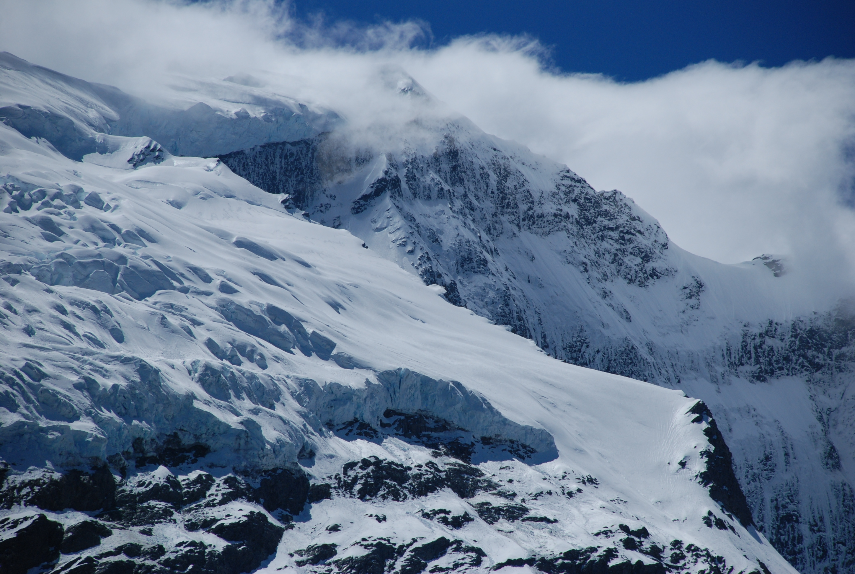 Rob Roy glacier, Mount Aspiring National Park, Wanaka, New Zealand