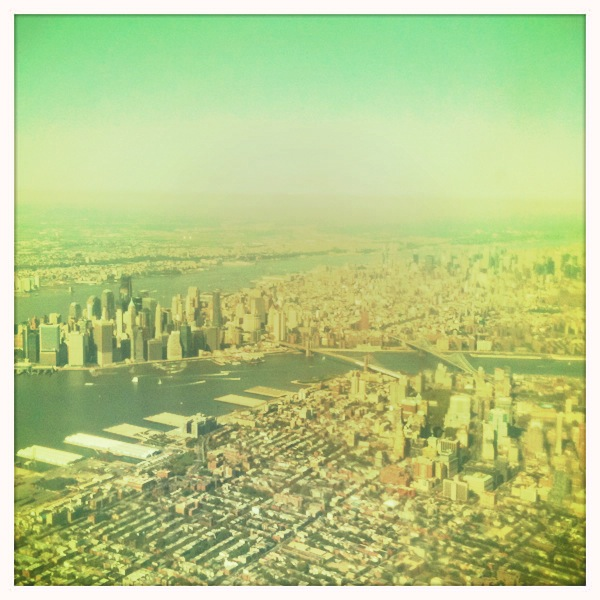 practical advice for travelling to the United States: NYC from above