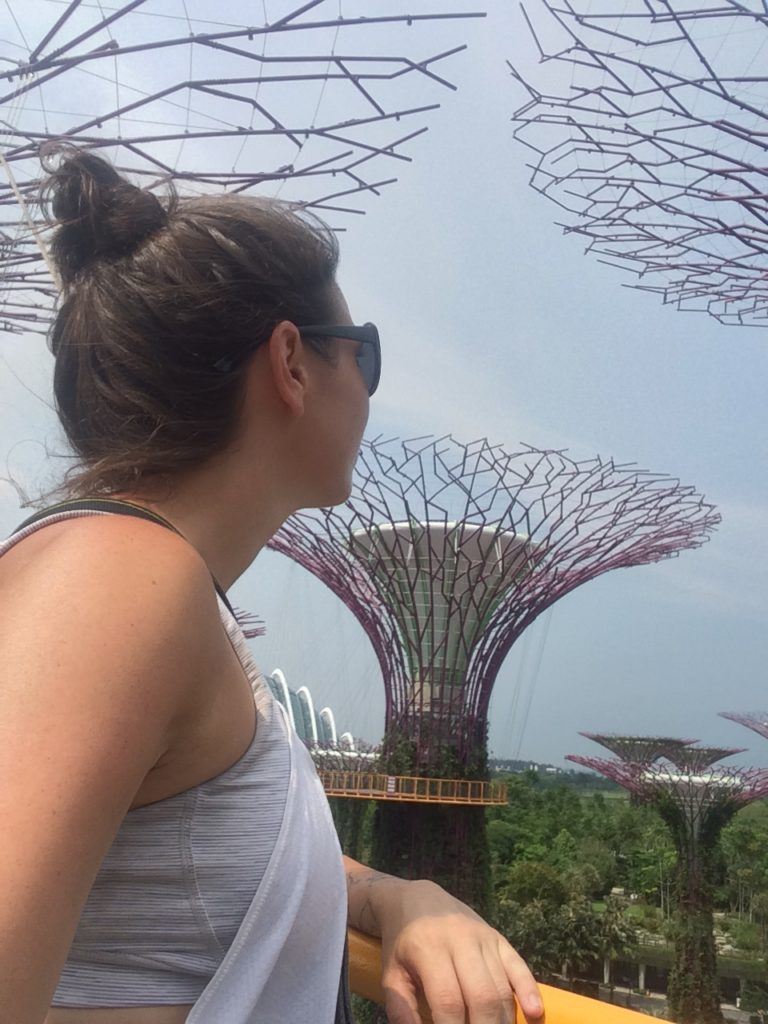 selfie at Gardens of the Bay, Singapore