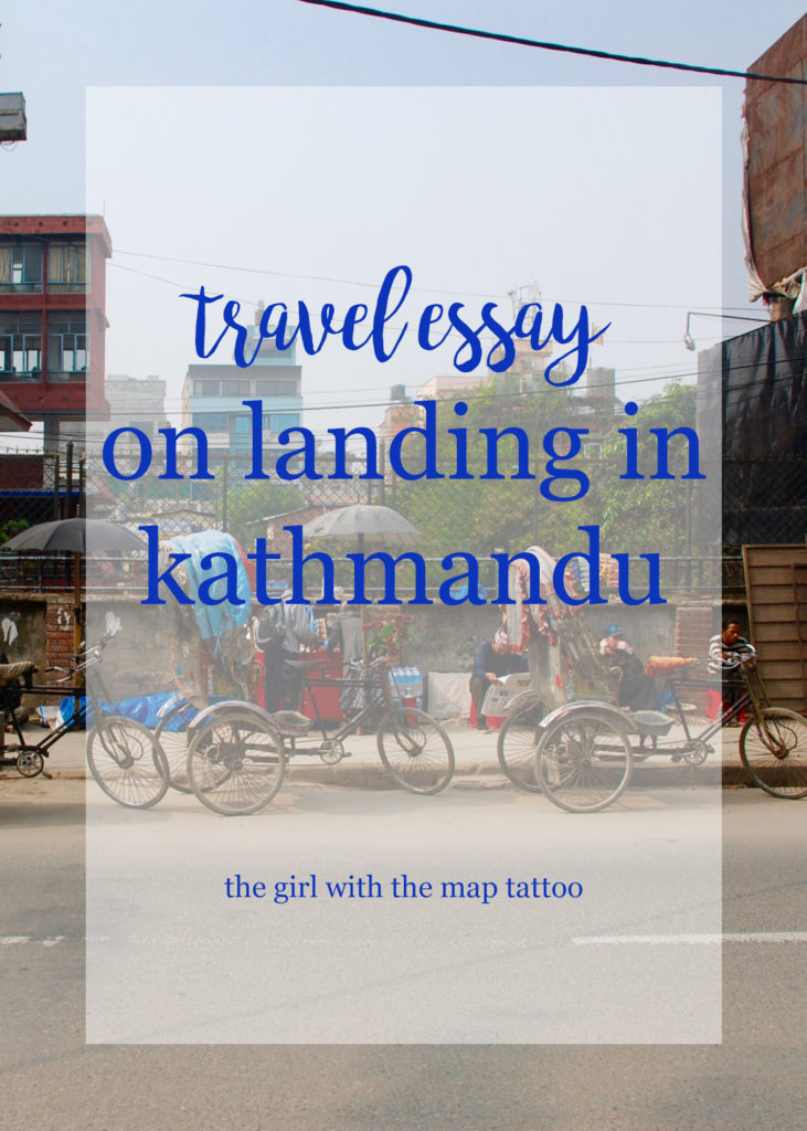 chaos and colour upon landing in Kathmandu