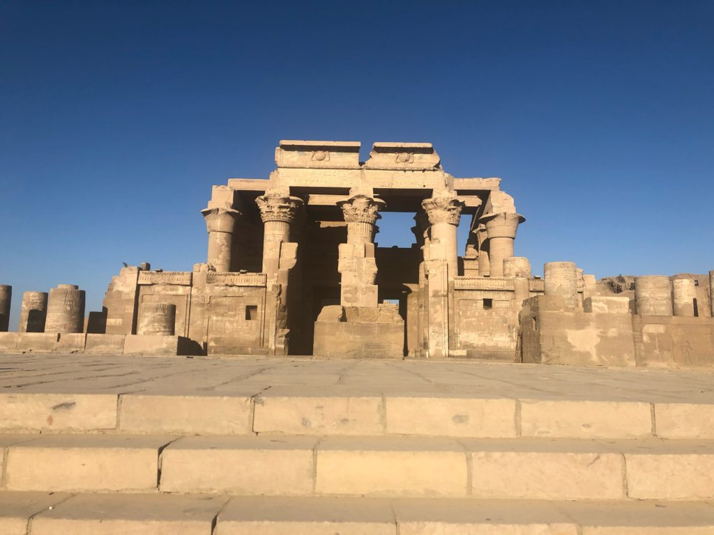 Why go Egypt now? You'll have almost every tomb, temple, and pyramid to yourself... like Kom Ombo, typically teeming with river cruise guests. Its rare that a traveller to such a famous destination can say that.